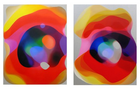 Buddha's Ray II and III, 2009 by John Young