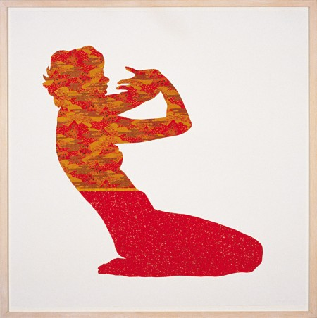 Figure Study (Red), 2000 by John Young